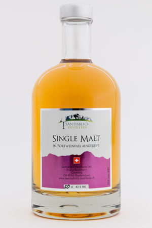 Single Malt Portweinfass