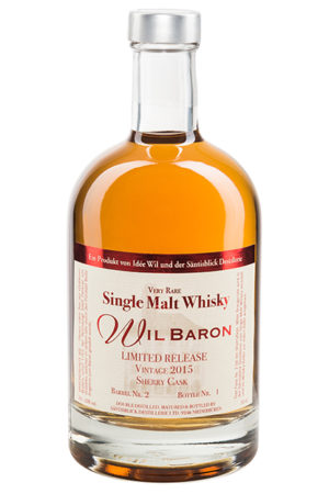 Single Malt Whisky Wil Baron